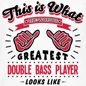 double bass player worlds greatest looks - Men's Premium Longsleeve Shirt