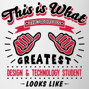 design  technology student worlds greate - Mug