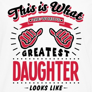 daughter worlds greatest looks like - Men's Premium Longsleeve Shirt
