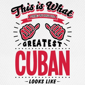 cuban  worlds greatest looks like - Baseball Cap