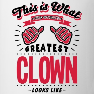 clown worlds greatest looks like - Mug
