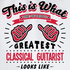 classical guitarist worlds greatest look - Drawstring Bag