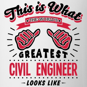 civil engineer worlds greatest looks lik - Mug