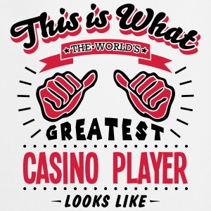 casino player worlds greatest looks like - Cooking Apron