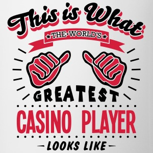 casino player worlds greatest looks like - Mug