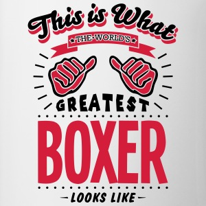 boxer worlds greatest looks like - Mug