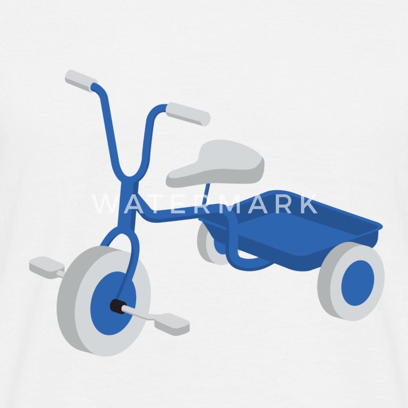 Blue Tricycle - Herre-T-shirt