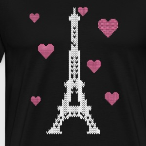I love paris Long Sleeve Shirts - Men's Premium T-Shirt