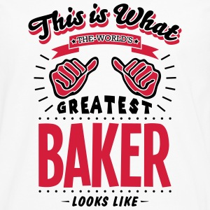baker worlds greatest looks like - Men's Premium Longsleeve Shirt