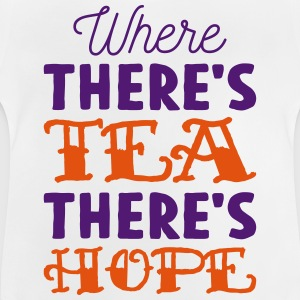 Where there's tea there's hope Manches longues - T-shirt Bébé