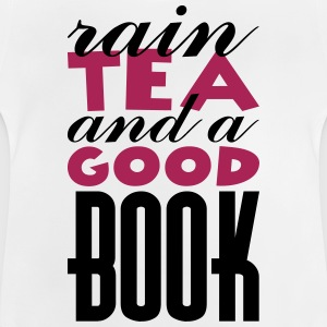 Rain, tea and a good book Manches longues - T-shirt Bébé
