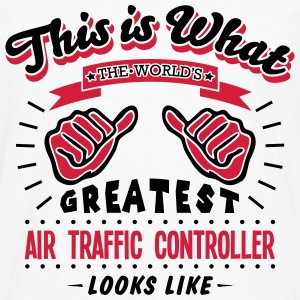 air traffic controller worlds greatest l - Men's Premium Longsleeve Shirt