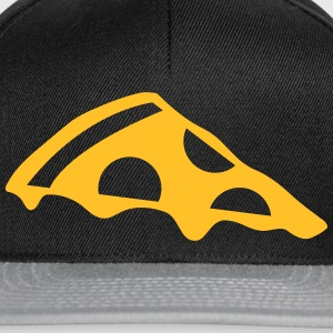 Pizza slice with cheese Sweat-shirts - Casquette snapback