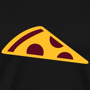 Pizza slice Sweaters - Mannen Premium T-shirt