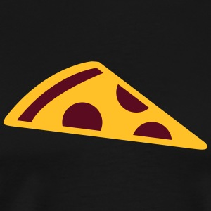 Pizza slice Tabliers - T-shirt Premium Homme