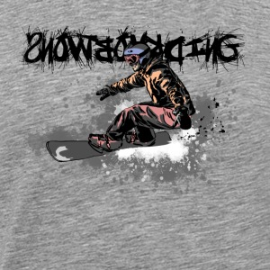 snowboarding Long sleeve shirts - Men's Premium T-Shirt