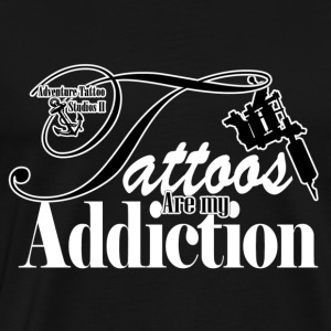 Tattoo Addiction Tops - Men's Premium T-Shirt