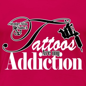 Tattoo Addiction Tops - Women's Premium T-Shirt