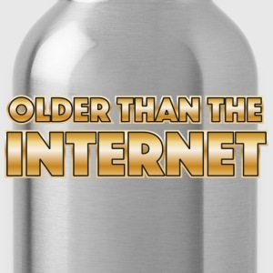 Older than the internet Camisetas - Cantimplora
