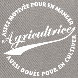 Agricultrice  - Casquette snapback