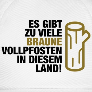 There are too many brown Vollpfosten! (2015) Shirts - Baseball Cap
