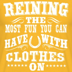 Reining - Fun Tops - Men's T-Shirt