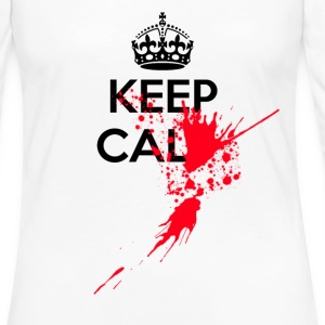 Keep calm serial killer - Women's Premium Longsleeve Shirt