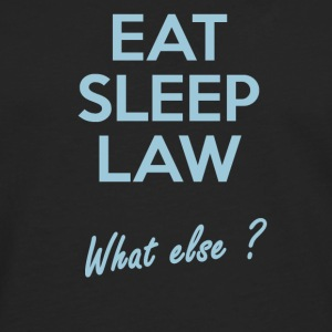 Eat Sleep Law - T-shirt manches longues Premium Homme