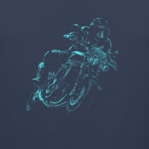 motorcycle Shirts - Mannen Premium tank top