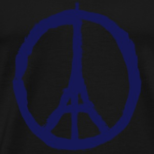 PRAY FOR PARIS - PEACE FOR PARIS Langarmshirts - Männer Premium T-Shirt