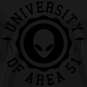 University of Area 51 Pullover & Hoodies - Männer Premium T-Shirt