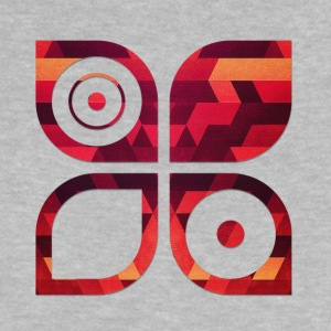 Abstract minimal geometry Hipster Art (Red Gold) Shirts - Baby T-shirt