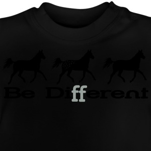 Be different - Appaloosa Manga larga - Camiseta bebé