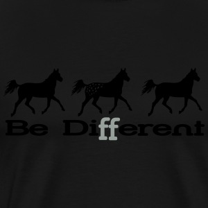 Be different - Appaloosa Manches longues - T-shirt Premium Homme