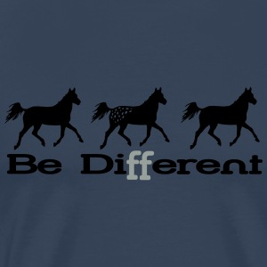 Be different - Appaloosa Maglie a manica lunga - Maglietta Premium da uomo