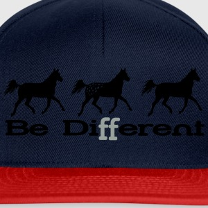 Be different - Appaloosa Manches longues - Casquette snapback