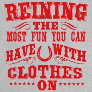 Reining - fun Long Sleeve Shirts - Baby T-Shirt