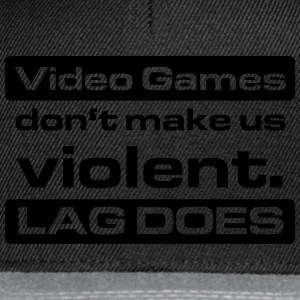 Video Game Lag T-Shirts - Snapback Cap
