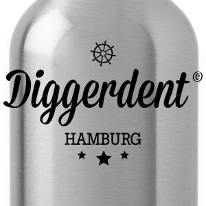 Diggerdent(c) Hamburg T-Shirts - Water Bottle