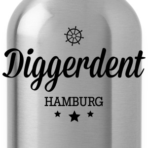 Diggerdent(c) Hamburg decadent T-Shirts - Water Bottle