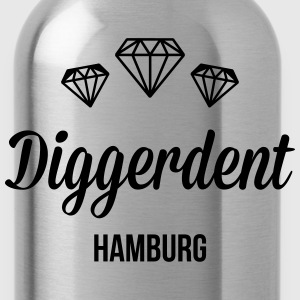 Diggerdent(c) Hamburg diamonds T-Shirts - Water Bottle