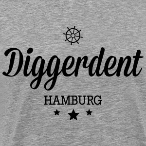 Diggerdent(c) Hamburg decadent Long Sleeve Shirts - Men's Premium T-Shirt