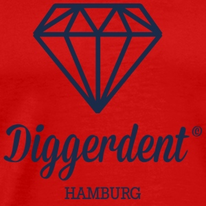 Diggerdent Hamburg diamond Long Sleeve Shirts - Men's Premium T-Shirt