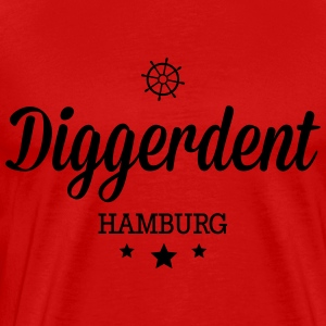 Decadent Hambourg Diggerdent(c) Manches longues - T-shirt Premium Homme