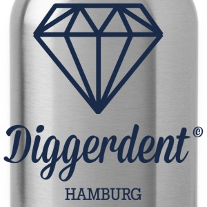 Diggerdent Hamburg diamond T-Shirts - Water Bottle