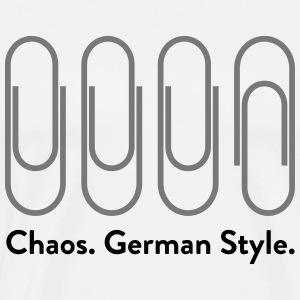Chaos: German Style (2015)  Aprons - Men's Premium T-Shirt