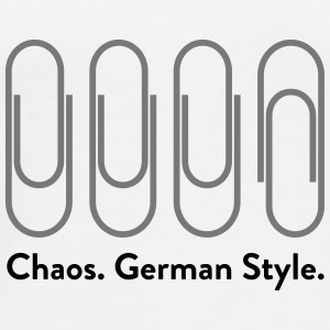 Chaos: German Style (2015) Bags & Backpacks - Men's Premium T-Shirt