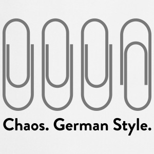 Chaos: German Style (2015) T-Shirts - Cooking Apron