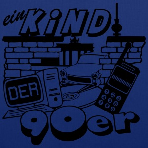 Ein Kind der 90er / Party Fun 90er Party  - Stoffbeutel