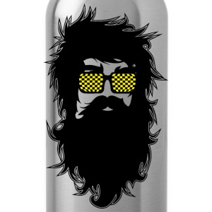Men With Beards & Glasses - Water Bottle